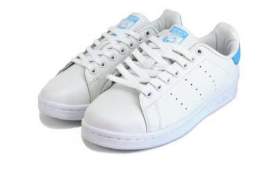 adidas stan smith white blue s74778 купить