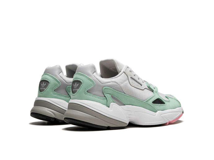 adidas falcon grey green b28127 купить