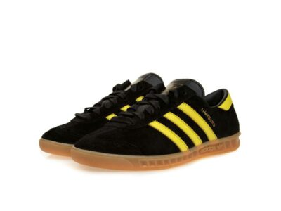 adidas hamburg black yellow купить