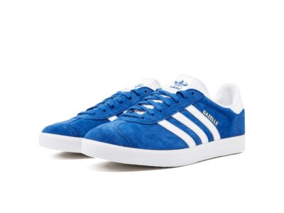 adidas gazelle bright blue s76227 купить