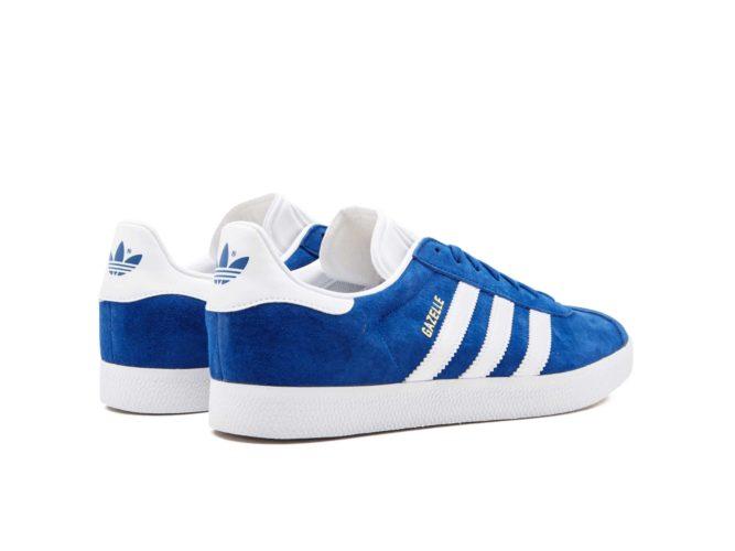 adidas gazelle bright blue s76227 купить