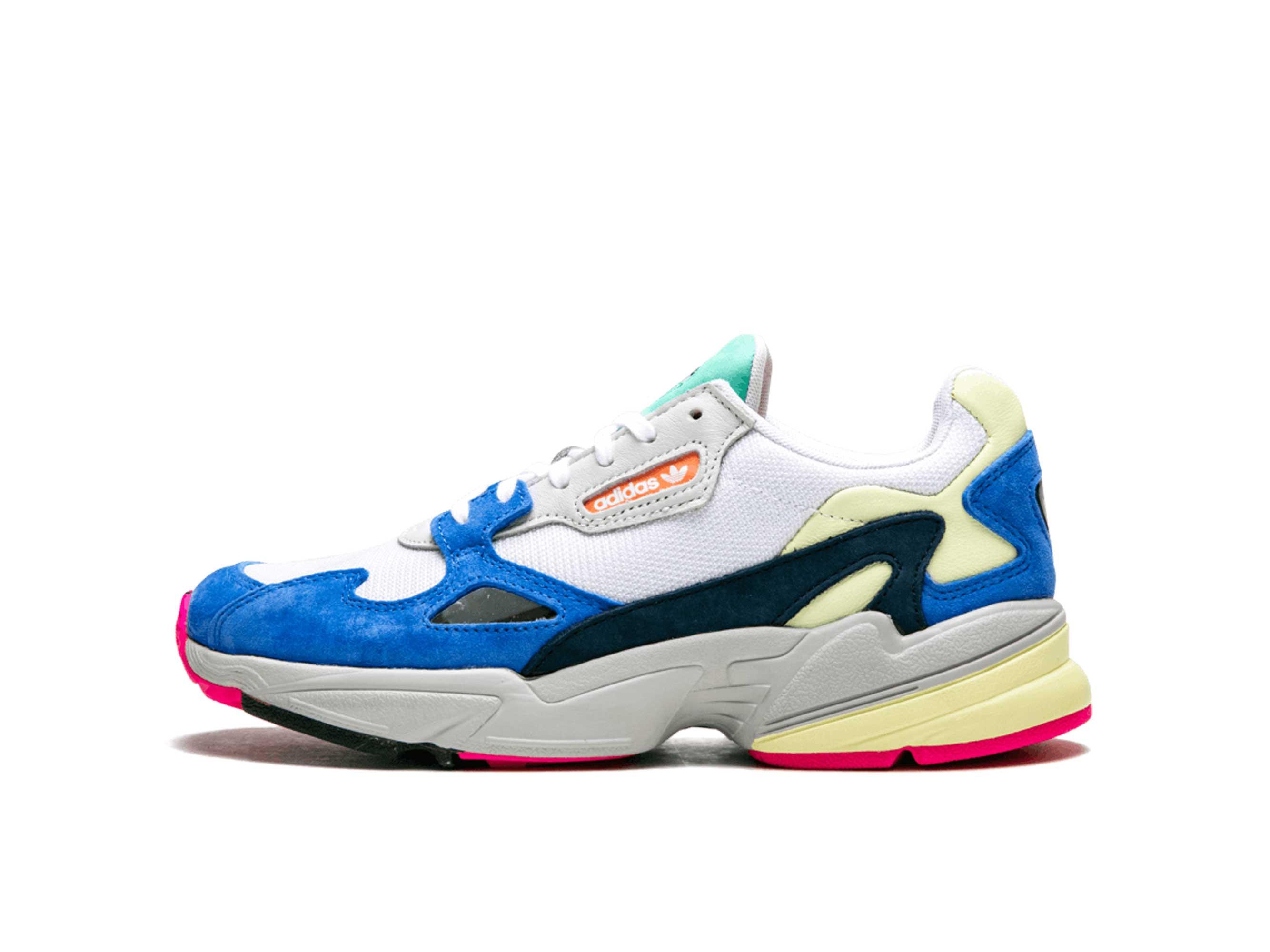 adidas falcon blue white ⋆ adidas