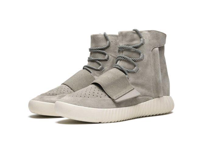 adidas yeezy boost 750 Kanye West grey купить