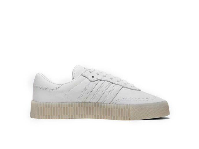 adidas samba all white купить