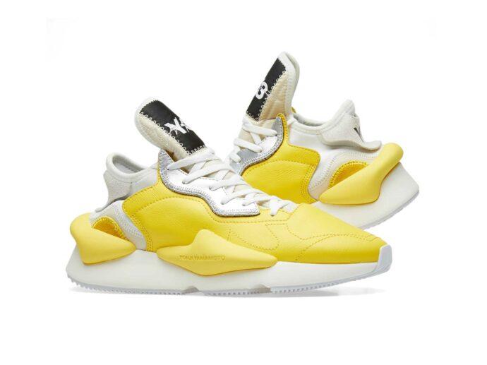 adidas y-3 kaiwa yellow white купить