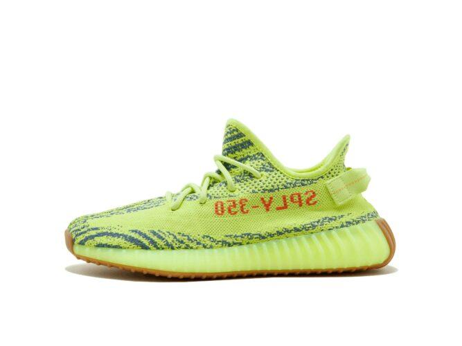 adidas yeezy boost 350 v2 semi frozen yellow b37572 купить