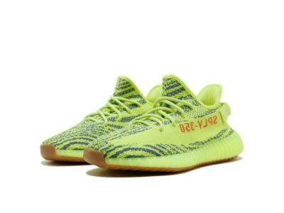adidas yeezy boost 350 v2 semi frozen yellow b37572 купить
