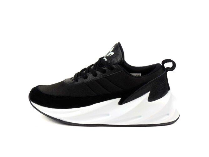 adidas sharks black white купить