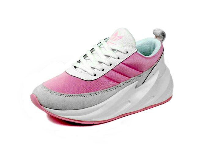 adidas sharks concept boost pink f33866 купить