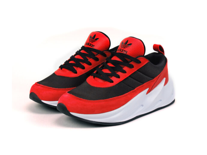 adidas sharks concept boost red black f33852 купить
