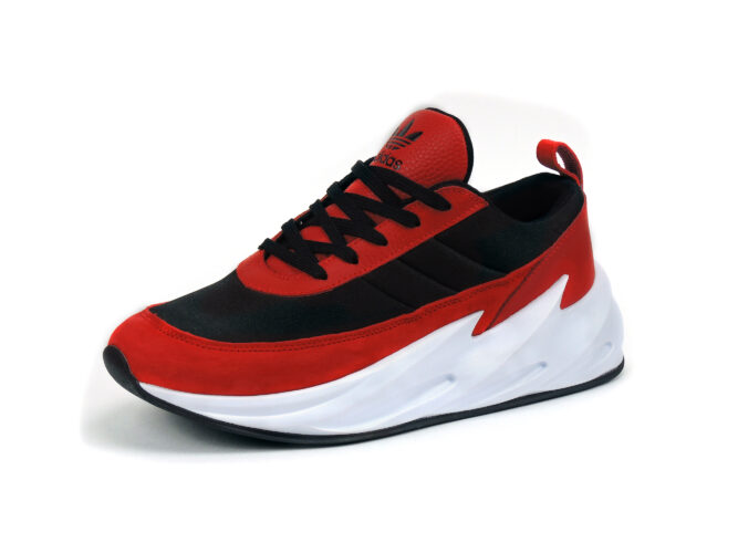 adidas sharks concept boost red black f33852 купить