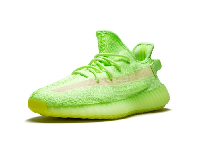 adidas yeezy boost 350 V2 glow in the dark eg5293 купить