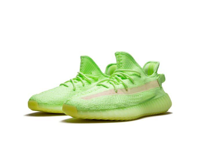 adidas yeezy boost 350 V2 glow in the dark eg5293 купить