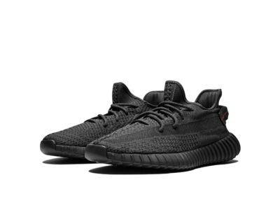 adidas yeezy boost 350 v2 reflective black static fu9007 купить