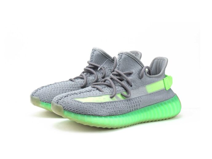 adidas yezzy boost 350 v2 grey green ef2371 купить