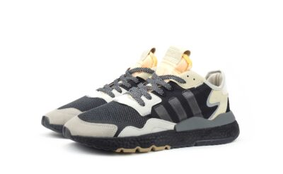 adidas nite jogger black grey CG5951 купить