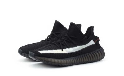 adidas yeezy boost 350 v2 black white EG7490 купить