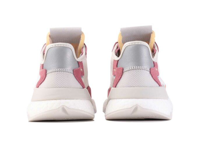 adidas nite jogger white pink DA86661 купить