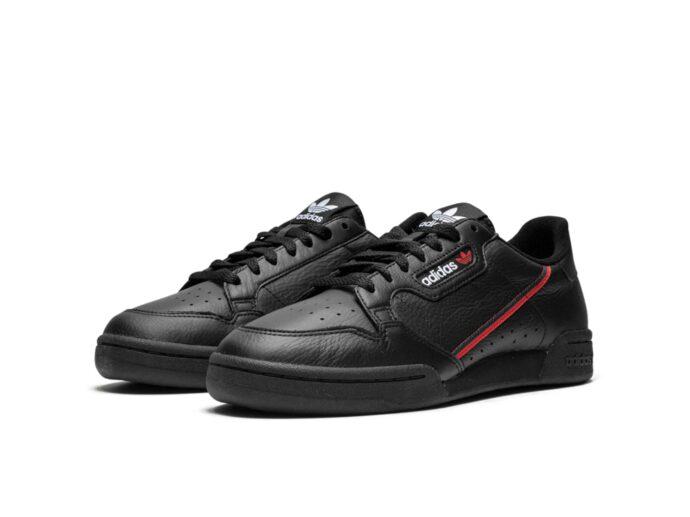 adidas continental 80 black b41672 купить