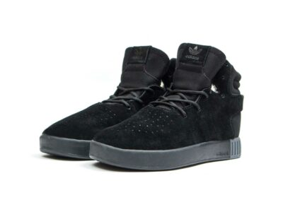 adidas tubular invader strap black купить