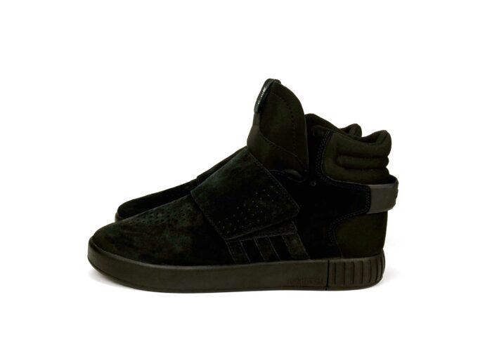 adidas tubular invader strap core black BY3632 купить