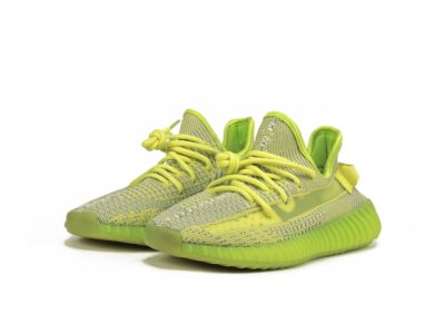 adidas yeezy boost 350 V2 yellow lime ef2243 купить