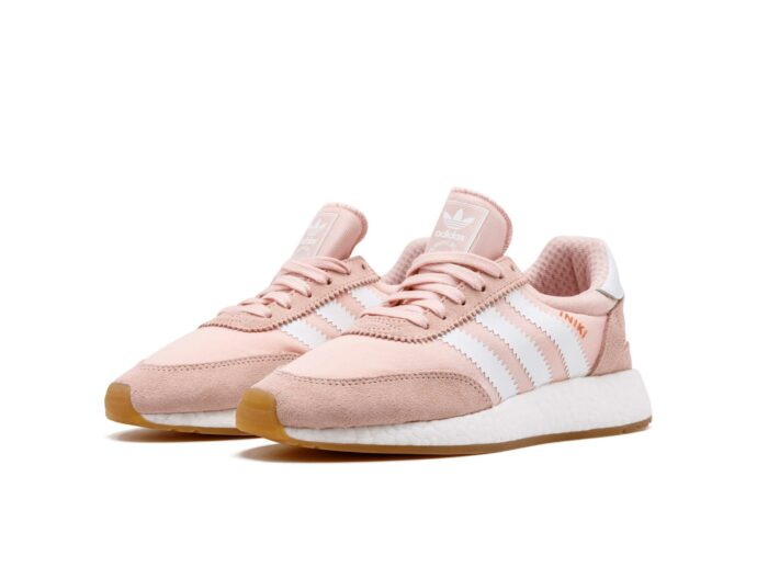 adidas iniki runner pink white by9094 купить