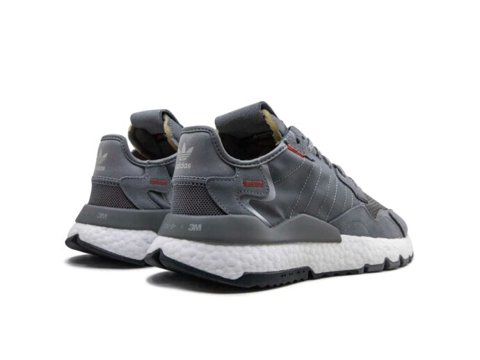 adidas nite jogger grey white EE5869 купить