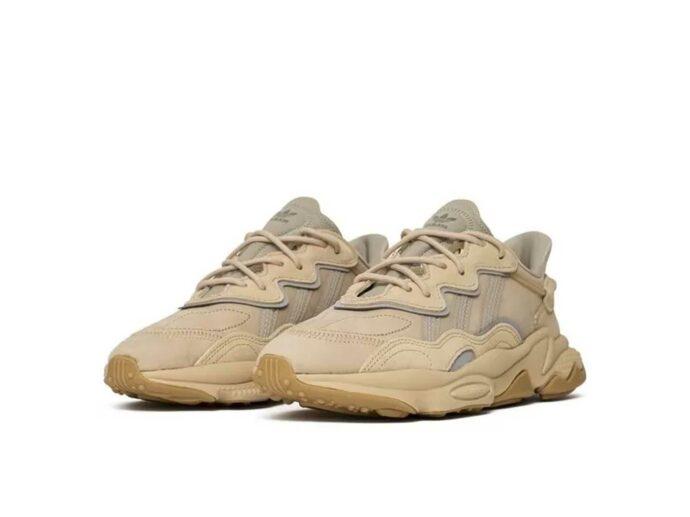 adidas ozweego light brown ee6462 купить