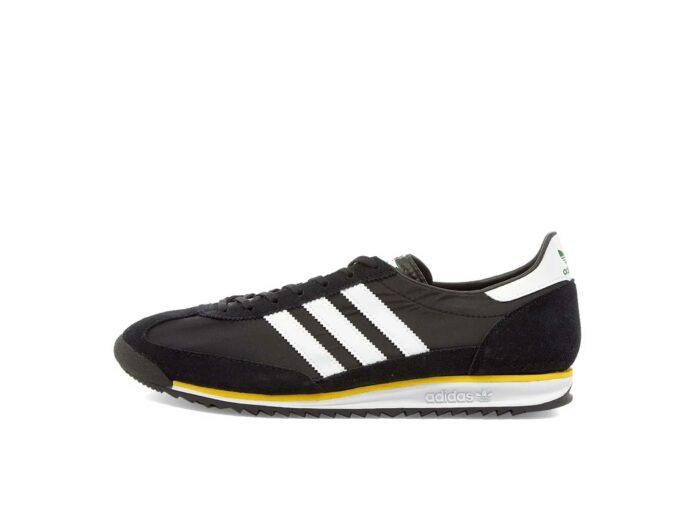 adidas sl 72 black yellow fw3271 купить