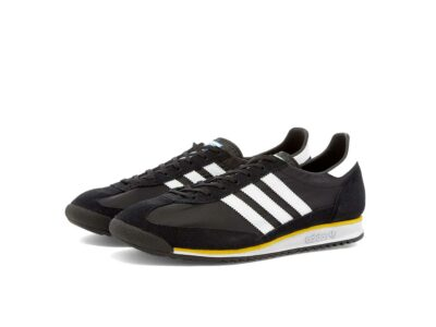 adidas sl 72 black yellow fw3271 купить