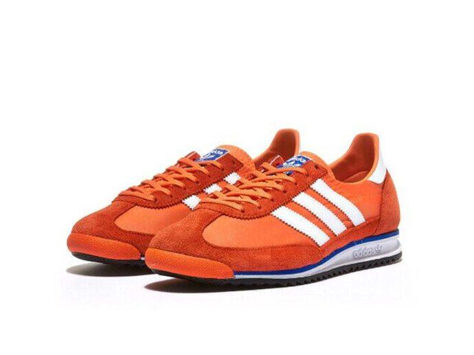 adidas sl 72 orange white eh1328 купить