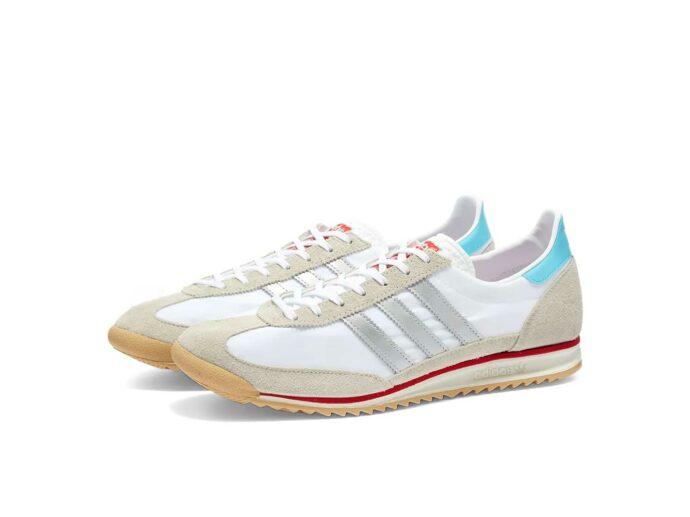 adidas sl 72 white matte silver ef5106 купить