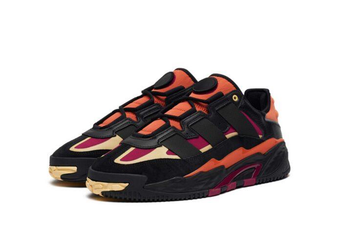 adidas niteball black power berry orange tint FY0157 купить
