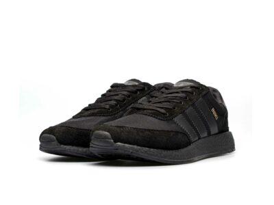 adidas iniki runner all black купить